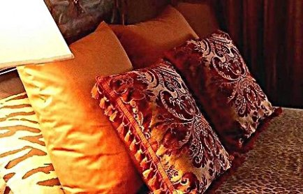 Styling Interiors to reflect your life - Luxurious pillows